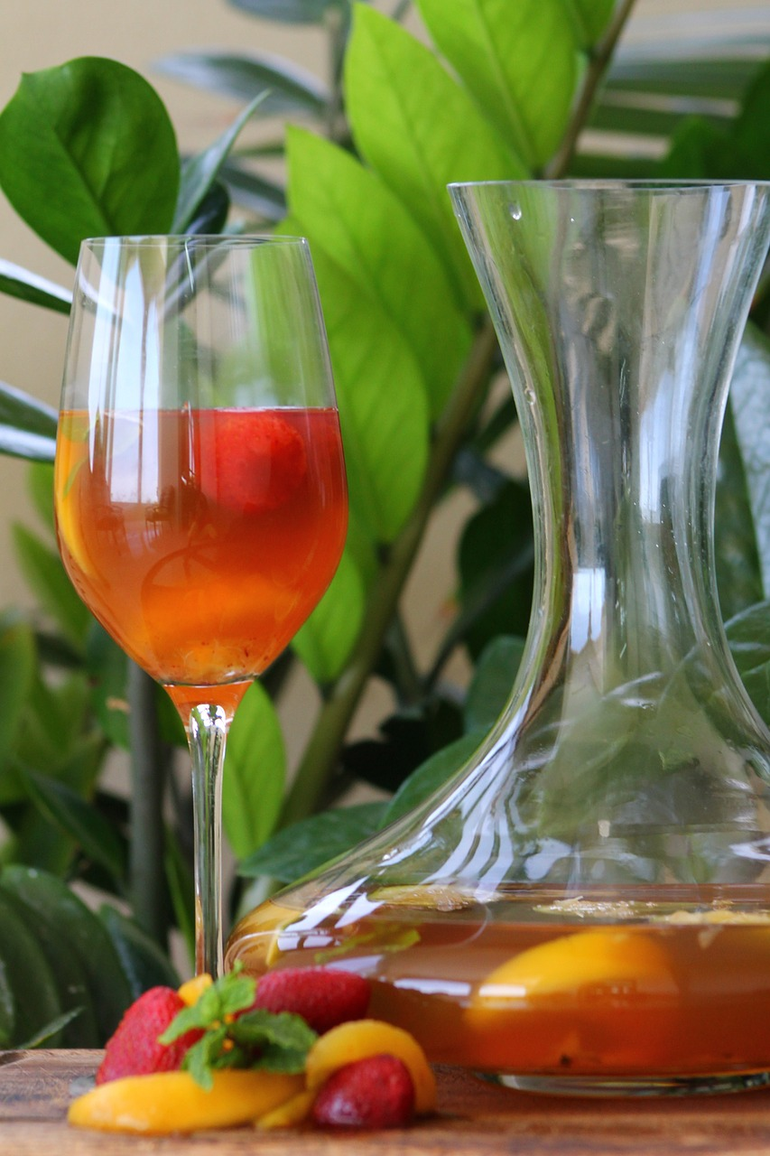 Say Cheers to Herb  Infused Alcohol